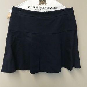 Banana Republic flounce ponte mini skirt